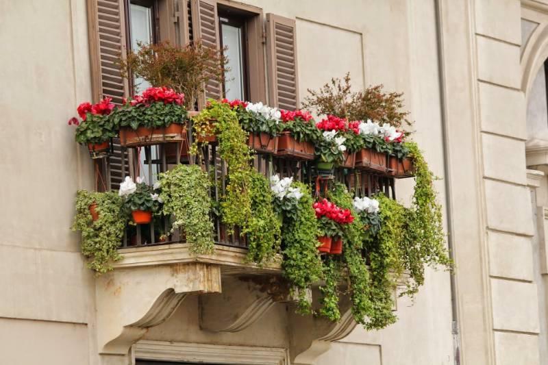 calcestruzzo balcone